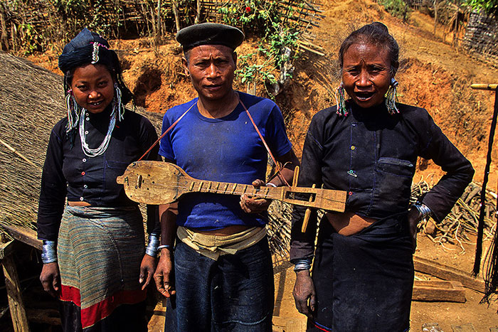 Etnia kentgung en Birmania