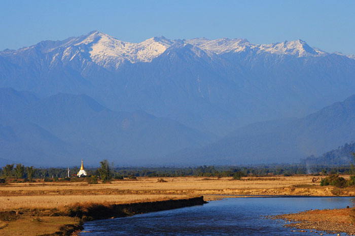 Montana en Putao Birmania