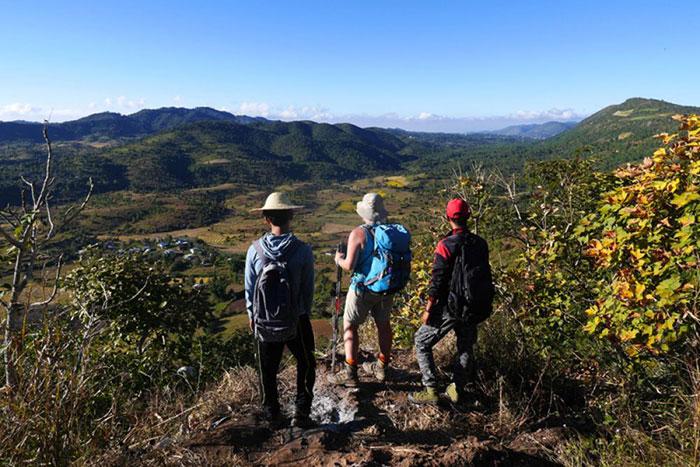 Trekking en Birmania caminata a Kalaw