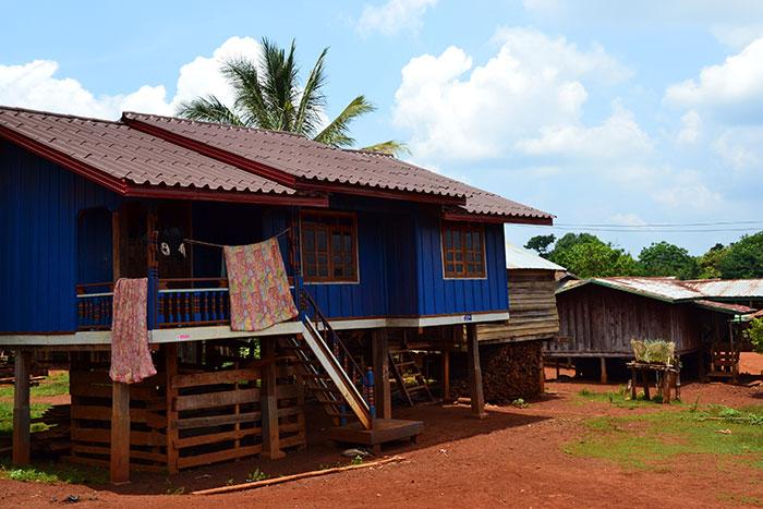 Alojamiento en la meseta de Boloven Laos