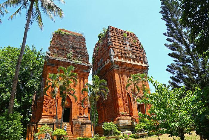 Torres Cham en Quy Nhon Vietnam