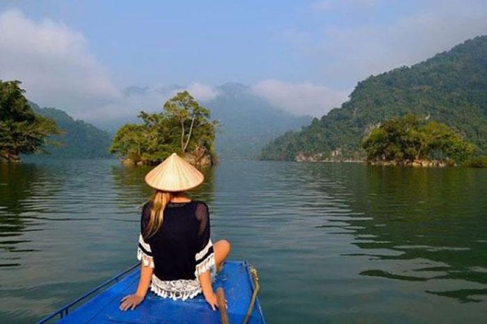 Lago de Ba Be Vietnam
