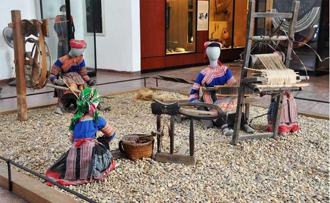 Museo de etnografia en vietnam