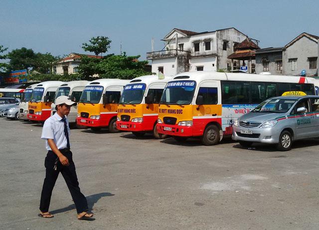 Traslado en bus publico desde el aeropuerto de Hue Vietnam