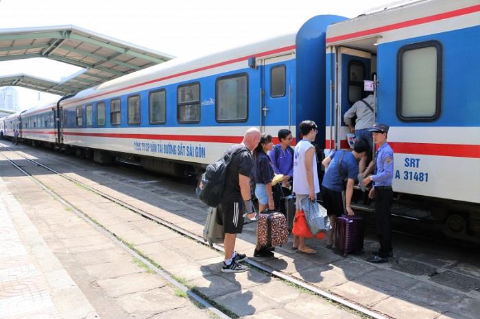 Estacion de tren en Da Nang Vietnam