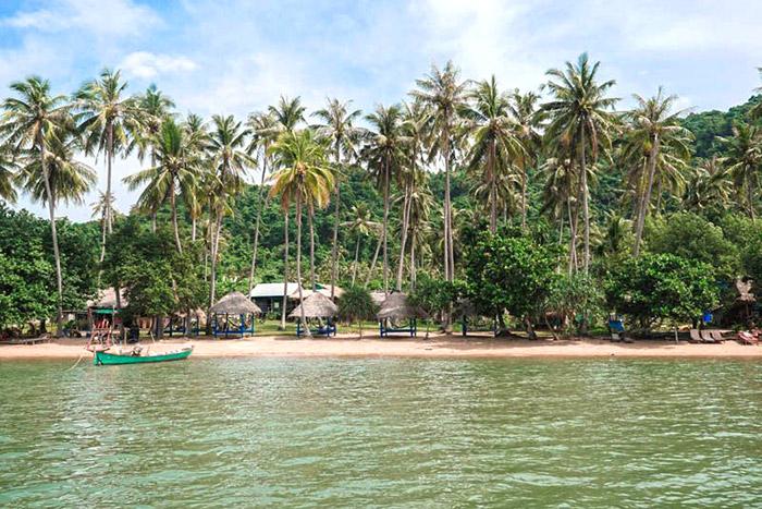 Disfruta de un descanso en la playa  para pasar unas buenes vacaciones familiares en Camboya