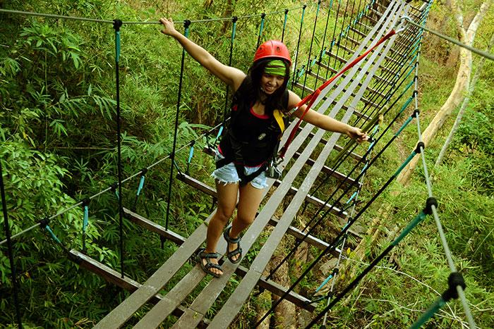 Vang Vieng challenge en Laos