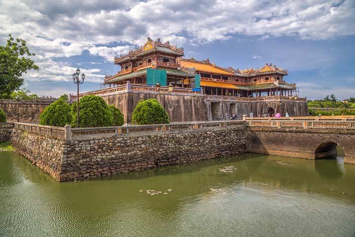 Consejos para viajar a Vietnam en setiembre ciudadela de Hue