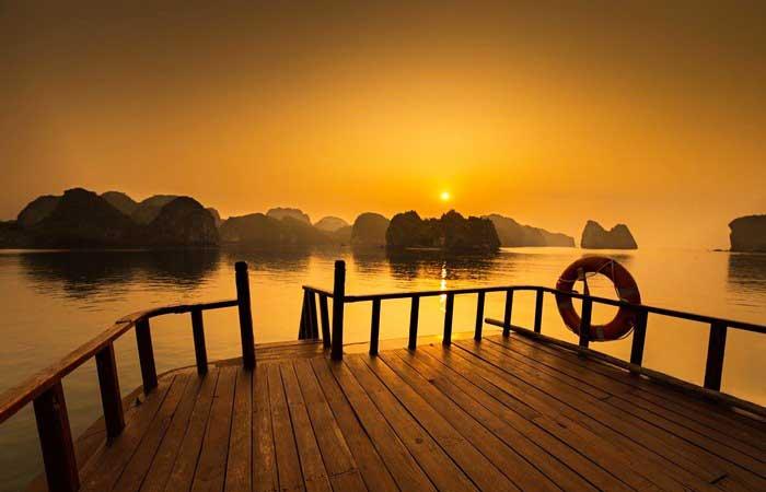Viaje de boda a la isla de Cat BA vietnam