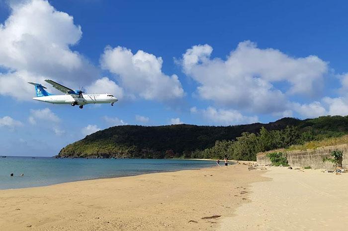 Viaje a Con Dao en avion