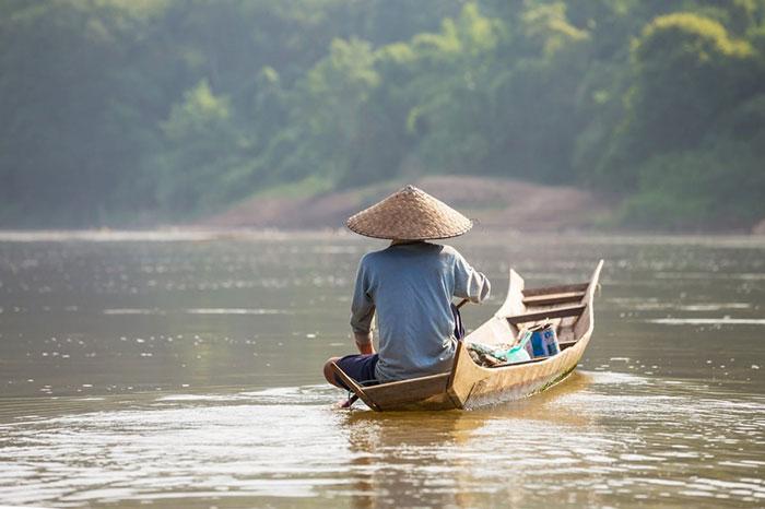 Thakhek en Laos