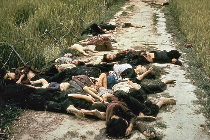 Victimas de la masacre de My Lai Vietnam