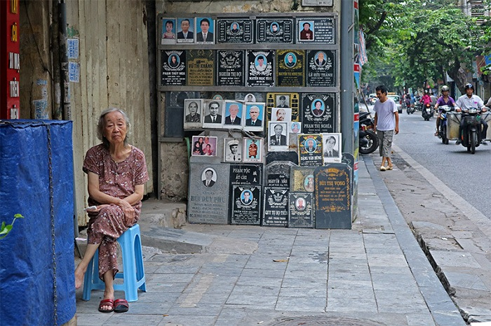 Calles de Hanoi por la manana