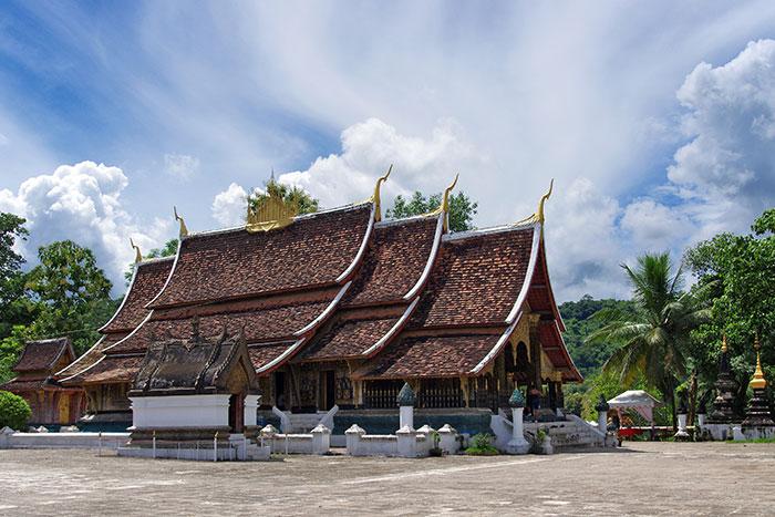 Visita a templos en Luang Prabang Laos