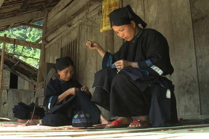 Pobladores de la etnia Tay en Cao Bang