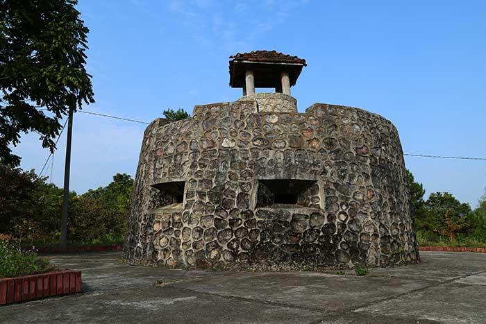 Vestigio historico en Cao Bang Vietnam