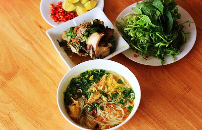 Gastronomia en Chau Doc Vietnam