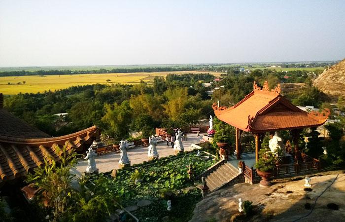 Pagoda de Phuc Dien en Chau Doc Vietnam