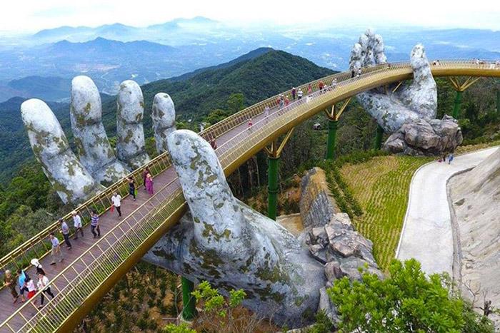 Visitar Da Nang en 1 o 2 dias Puente Dorado