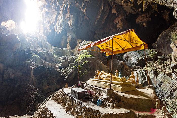 Visita a las grutas de Vang Vieng