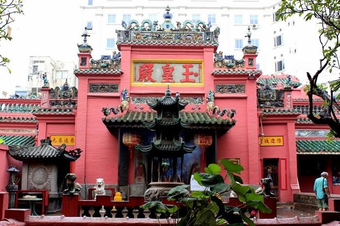 Pagoda Emperador de Jade en Saigon vietnam