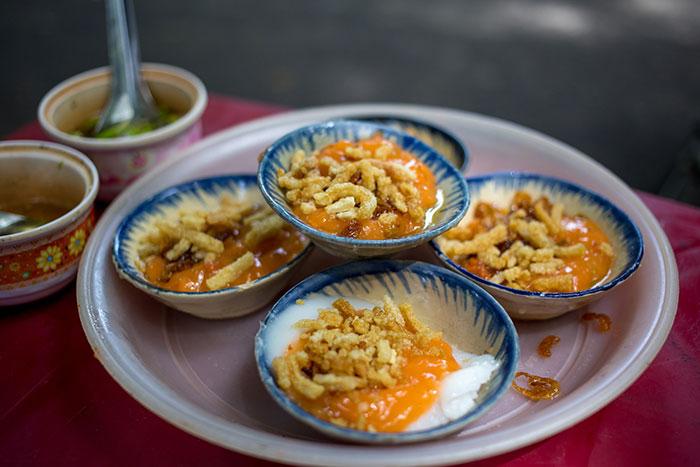 Comida tradicional de Hue Vietnam