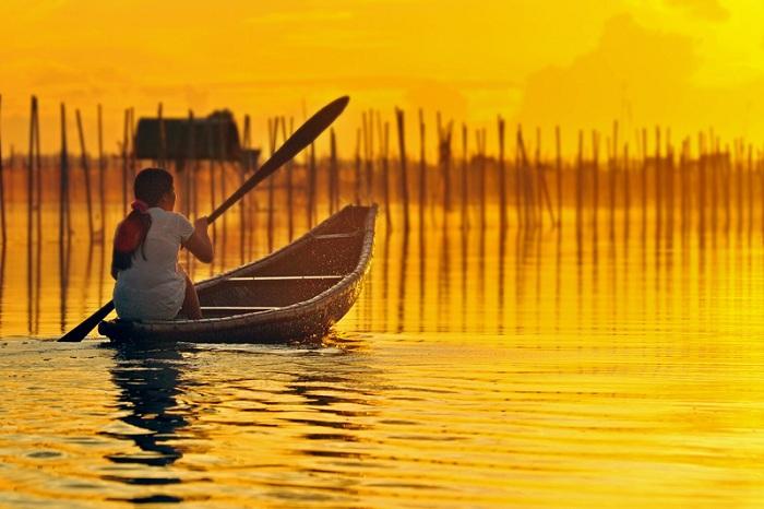 Laguna Tam Giang en Hue Vietnam
