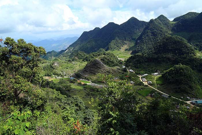 Valle de Han Kia en Mai Chau Vietnam