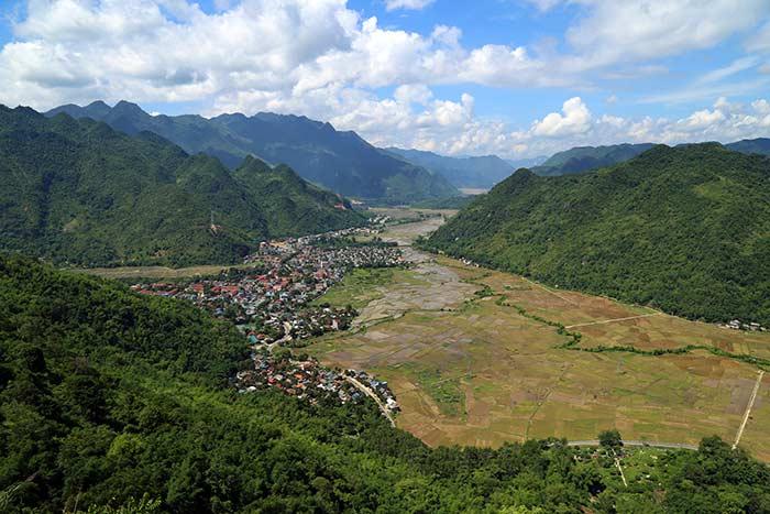 Valle de Mai Chau Vietnam