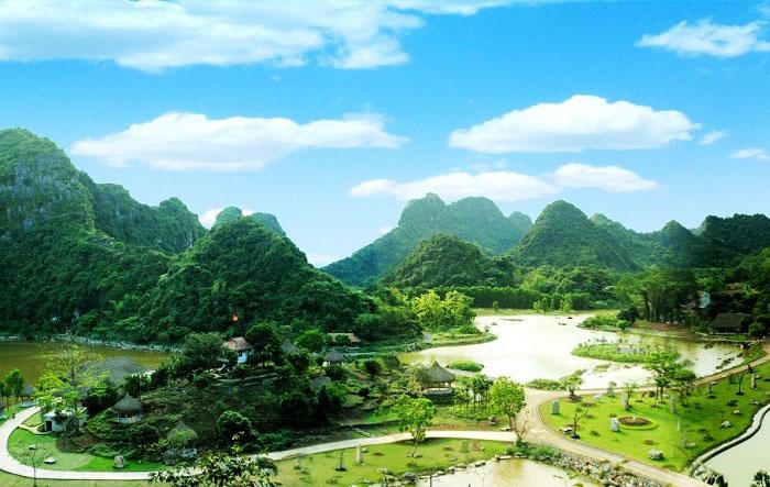 Parque de Aves en Tam Coc Ninh Binh