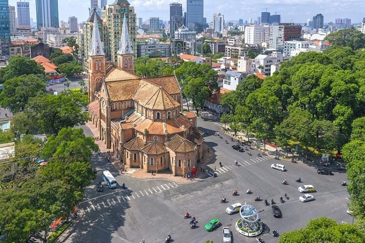 Catedral Notre Dame de Saigon Vietnam