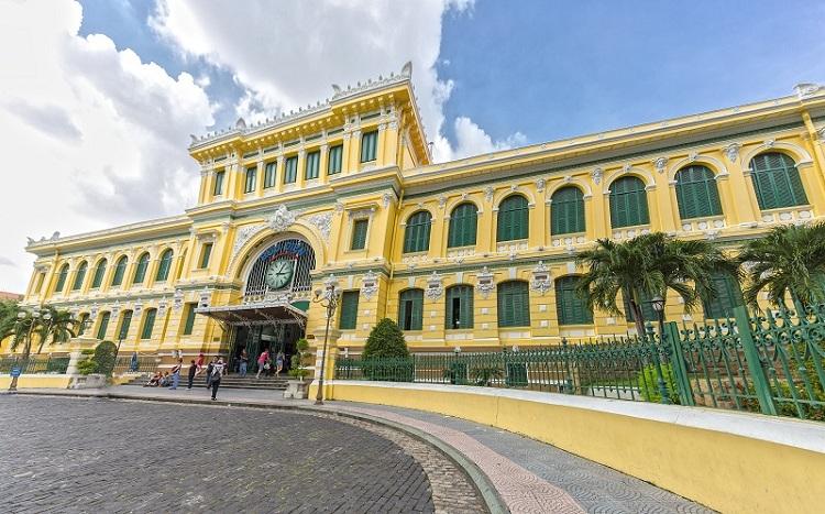 Correo Central de Saigon Vietnam