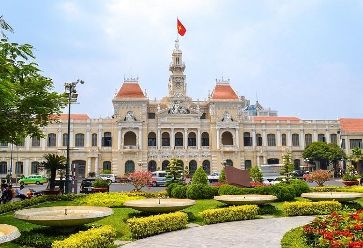Hotel de la ciudad de Saigon Vietnam