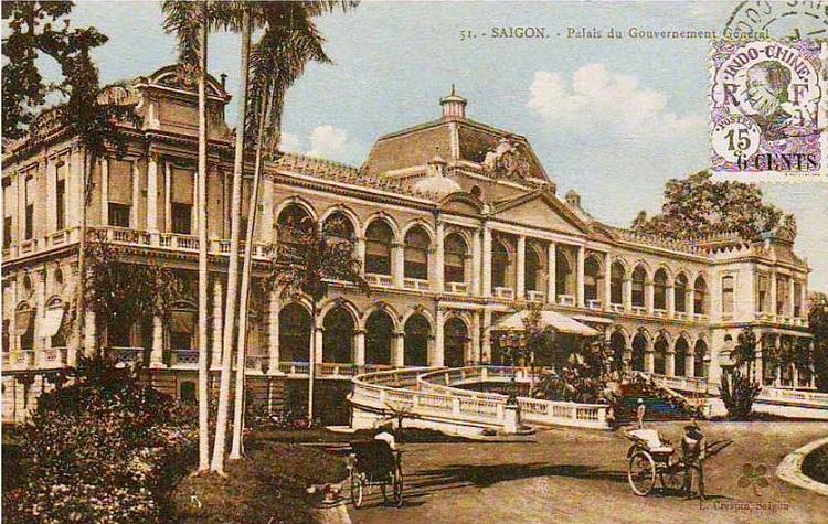 Palacio Norodom en Saigon Vietnam
