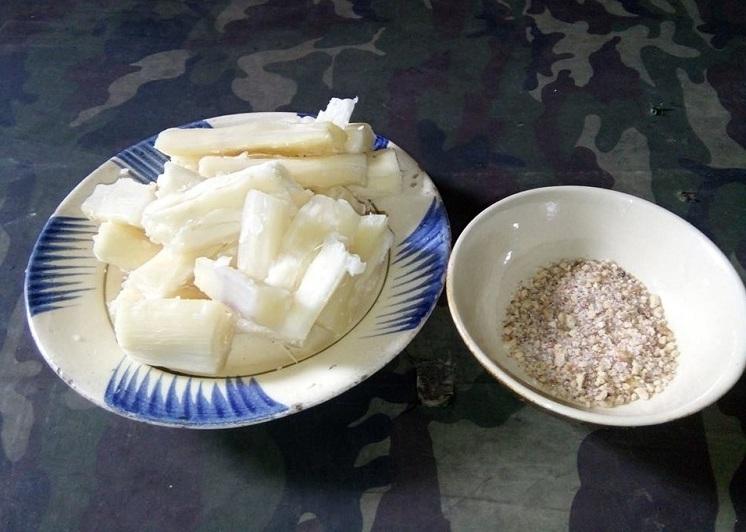 Comida tuneles de Cu Chi Saigon Vietnam