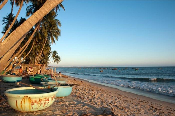 Paradisiaca playa en Mui Ne Vietnam