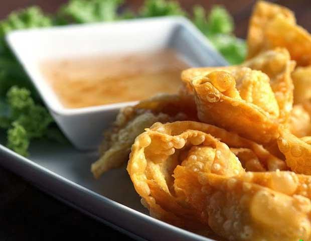 Wantan frito gastronomia de Hoi An