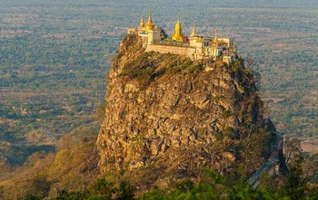 Bagan – Mt Popa – Bagan (D/-/-)